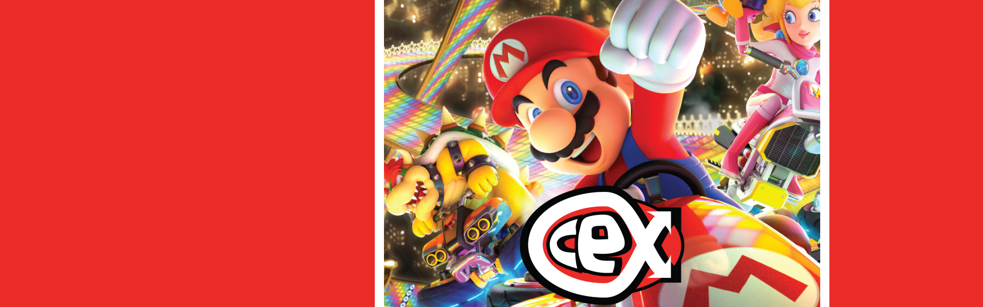 Mario Kart 8 Competition - Splash Banner